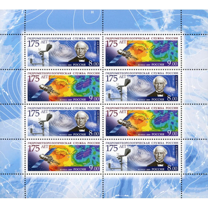 175 years of the Hydrometeorological Services of Russia