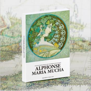 Alphonse Maria Mucha (30 postcards, 14.2*10.2 сm)