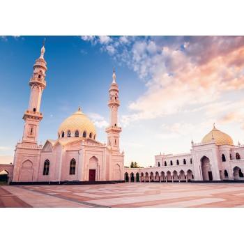 White mosque. Bolgar, Tatarstan