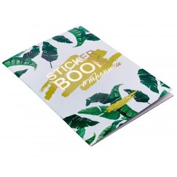 """Album with stickers """"Tropics"""" (14 х 21 сm)"""