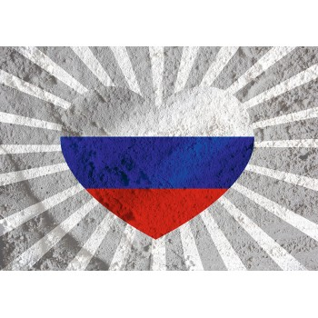 Heart-flag of Russia