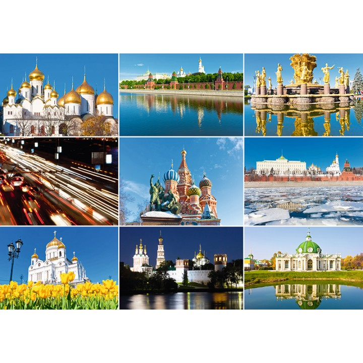 Views of Moscow