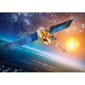 Satellite near the Earth