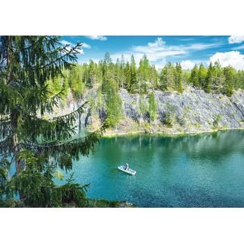 Ruskeala Mountain Park, Karelia
