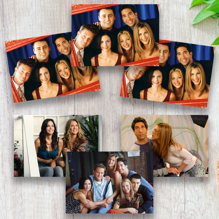 Friends (6 postcards, 14.5*10 cm)