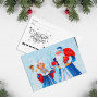 Merry Christmas and a Happy New Year! (9 postcards, 150*100 mm)