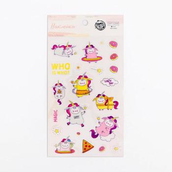 "Plastic stickers ""Magic"" (10 × 16 сm)"