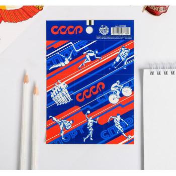 "Stickers ""Soviet sport"" (11 × 15,5 сm)"