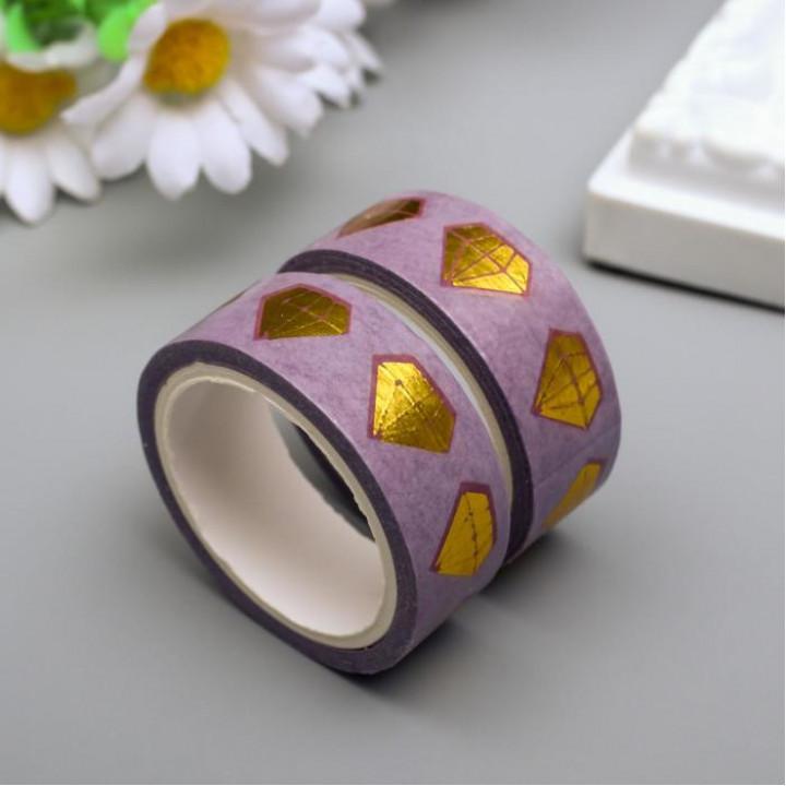 "Paper tape ""Golden diamond"" (width 1.5 сm)"