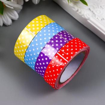 """Textile tape """"Dots"""" (width 1.5 сm)"""