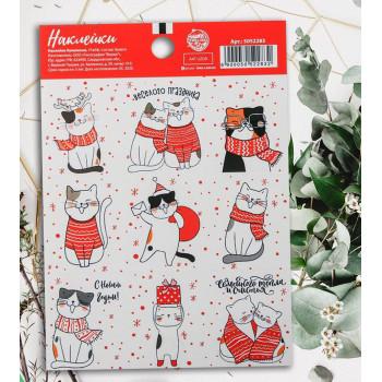 "Stickers ""Kitty cats"" (11 × 15,5 сm)"