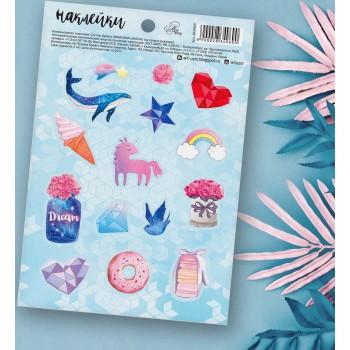"Stickers ""Magic world"" (11 × 16 cm)"