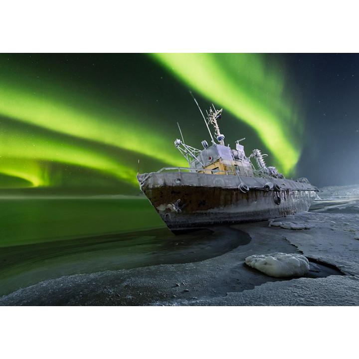 Aurora in the Barents Sea