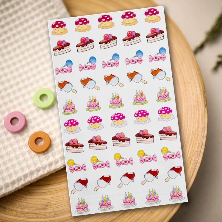 "Stickers ""Tasty treats"" (9,5 × 16 cm)"