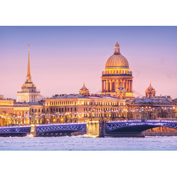 Admiralty and St. Isaac's Cathedral, St.Petersburg