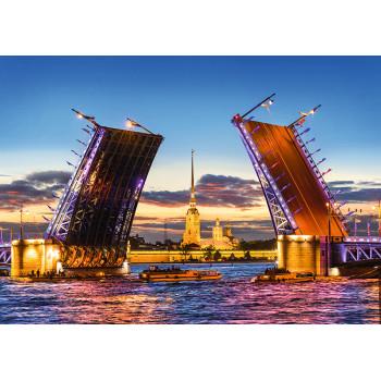 Palace Bridge, St. Petersburg