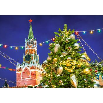 Christmas next to Kremlin