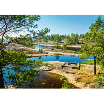 Ladoga lake