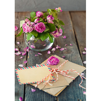 Roses and letters