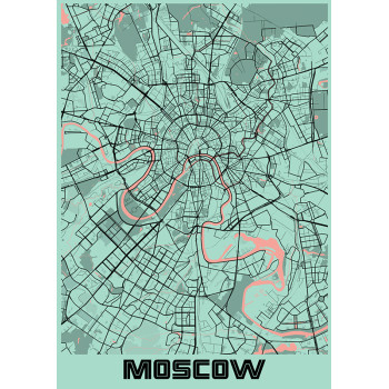 Green map of Russia