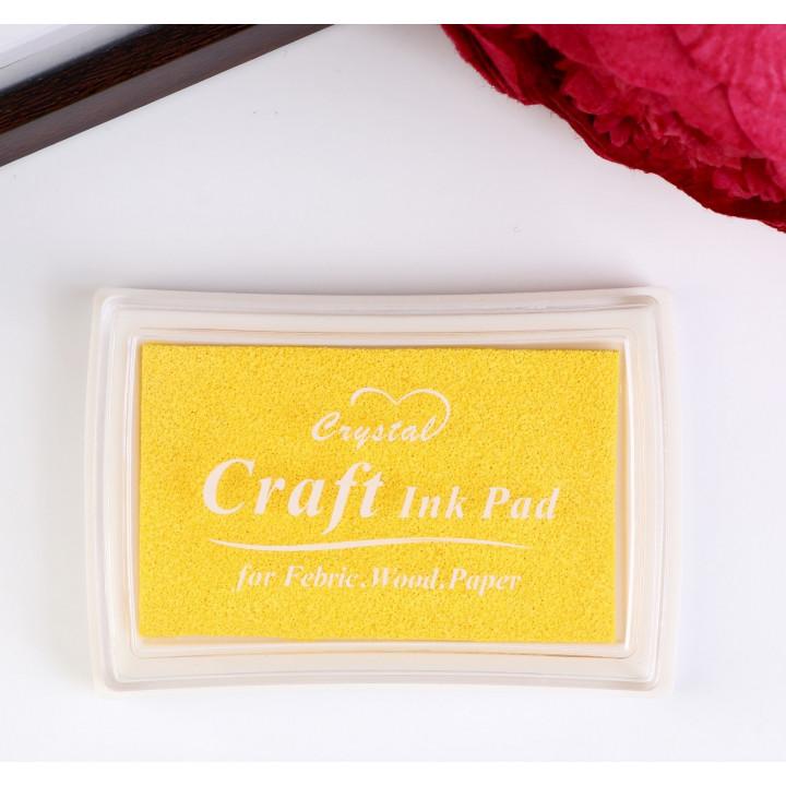 """Stamp pad """"Yellow"""""""