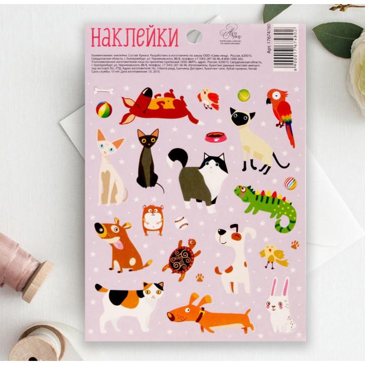 "Stickers ""Pets"" (11 × 16 cm)"