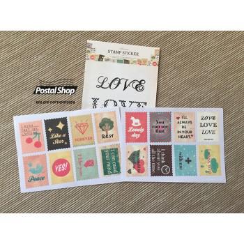 "Stickers ""Love"" (7 х 10 cm)"