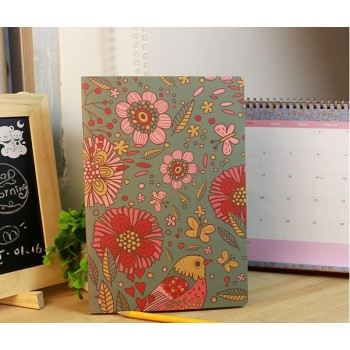Mini-notebook Green bamboo (12 * 9 cm, 14 pages)