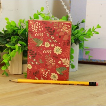 Mini-notebook Carmine (12 * 9 cm, 14 pages)
