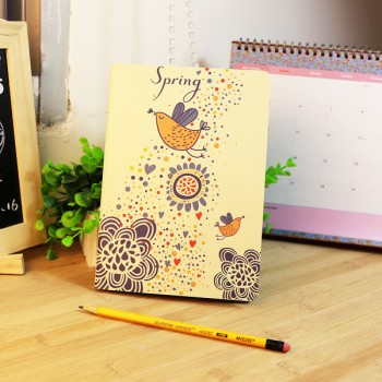 Mini-notebook Spring (12 * 9 cm, 14 pages)