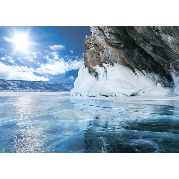 Frozen lake Baikal (UNESCO)
