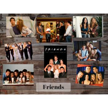 Friends (8 postcards, 14.5*10 cm)