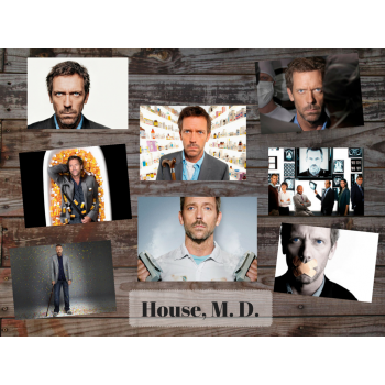 House, M. D. (8 postcards, 14.5*10 cm)