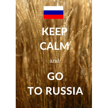 Keep calm and go to Russia