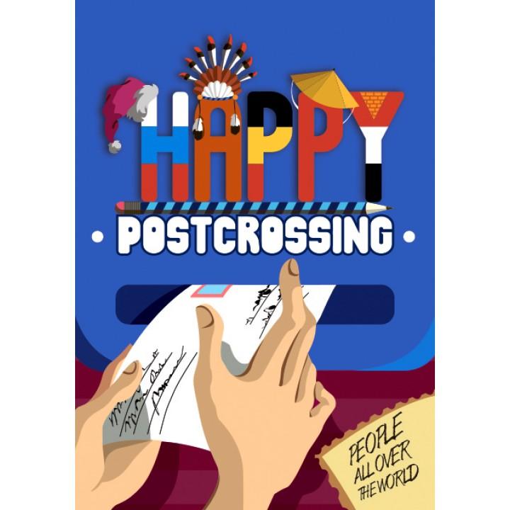 Happy Postcrossing. Letter box