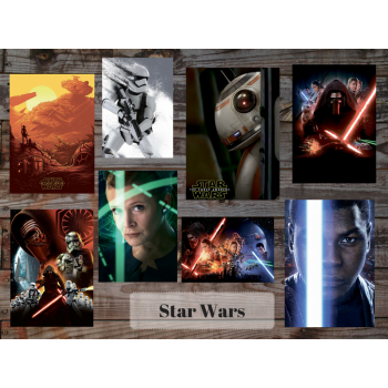Star Wars (8 postcards, 14.5*10 cm)