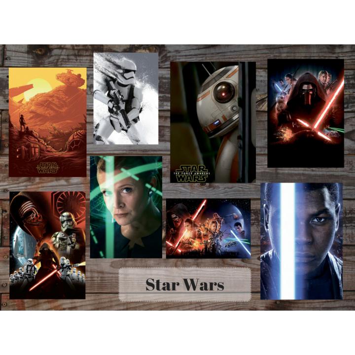 Star Wars (8 postcards, 14.5*10 cm)
