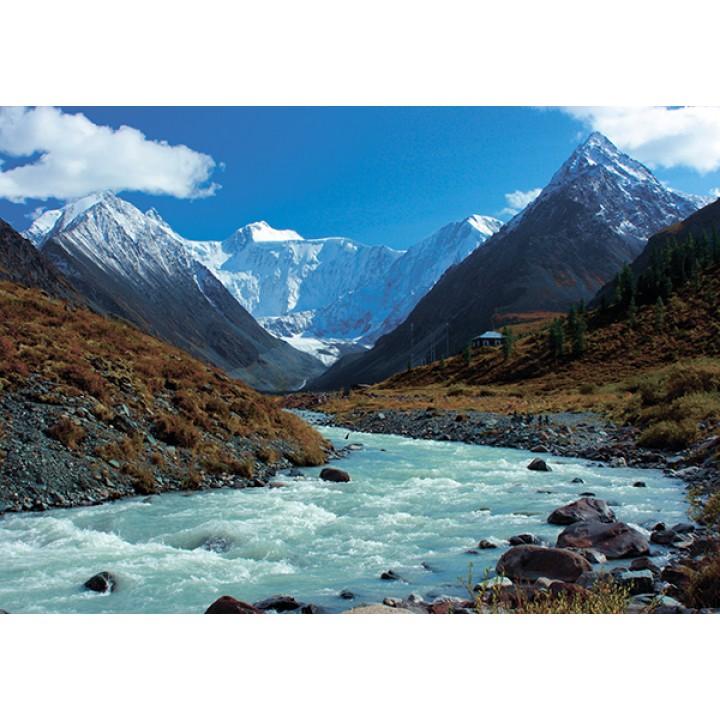 Altai. Akkem river. Belukha. UNESCO