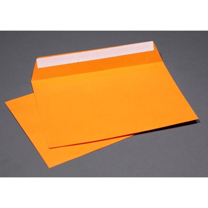 Orange envelopes А6 (114*162 mm). 4 pieces