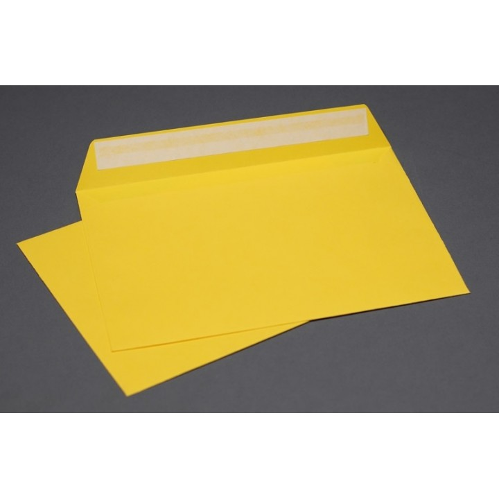 Yellow envelopes А6 (114*162 mm). 4 pieces