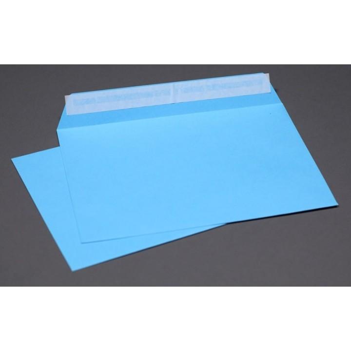 Blue envelopes А6 (114*162 mm). 4 pieces.