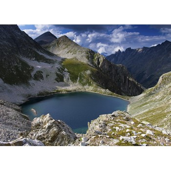 Black lake. Russia