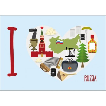 I love Russia!