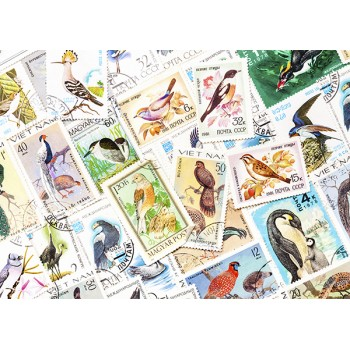 Stamps with birds