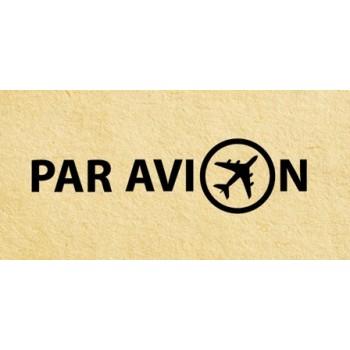 Stamp Par avion #1 (20*45 mm)