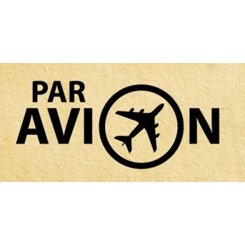 Stamp Par avion #2 (20*45 mm)