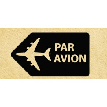 Stamp Par avion #3 (20*45 mm)