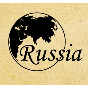 Stamp Russia #2 (d=40 mm)