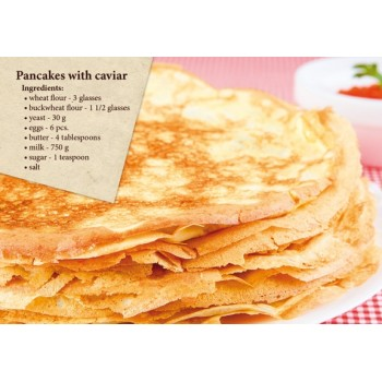 Postcard-recipe Pancakes (in English)