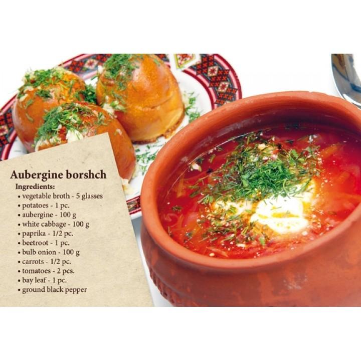 Postcard-recipe Borscht (in English)